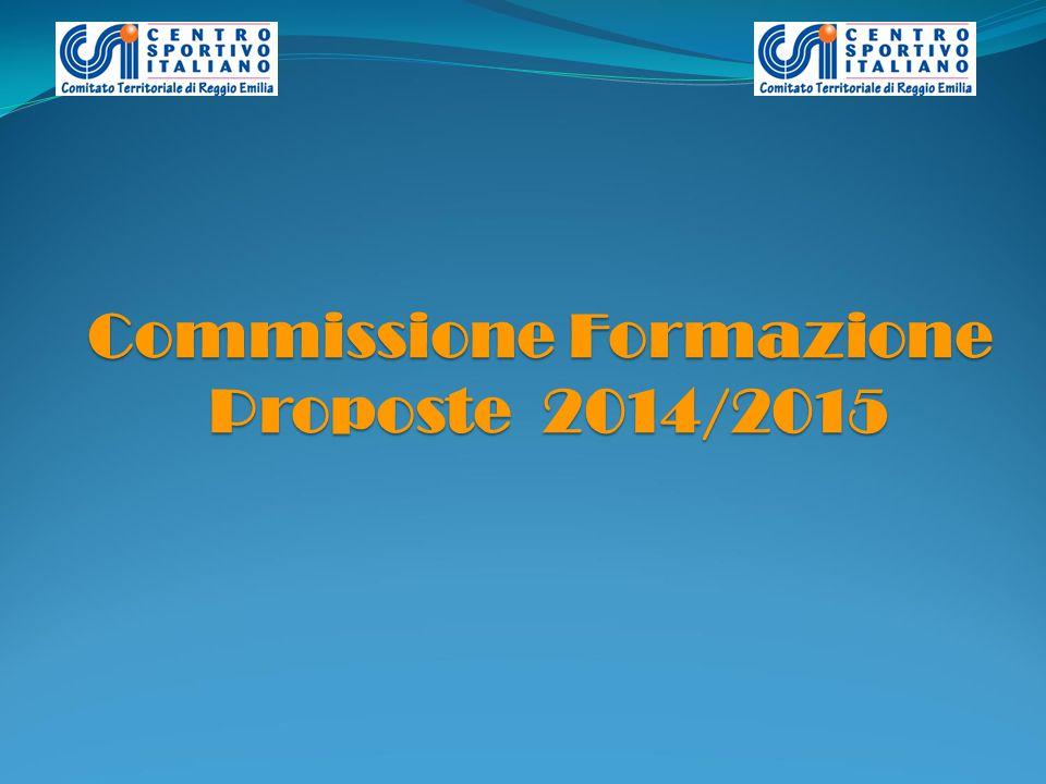 Commissione Formazione Proposte 2014/2015