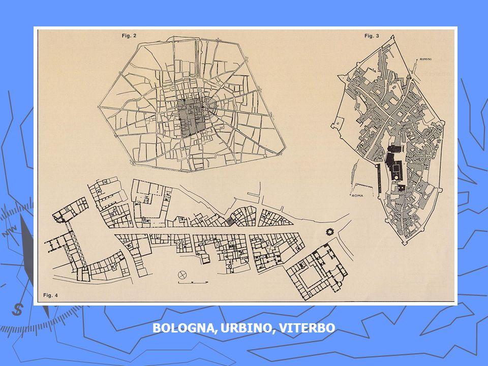 BOLOGNA, URBINO, VITERBO