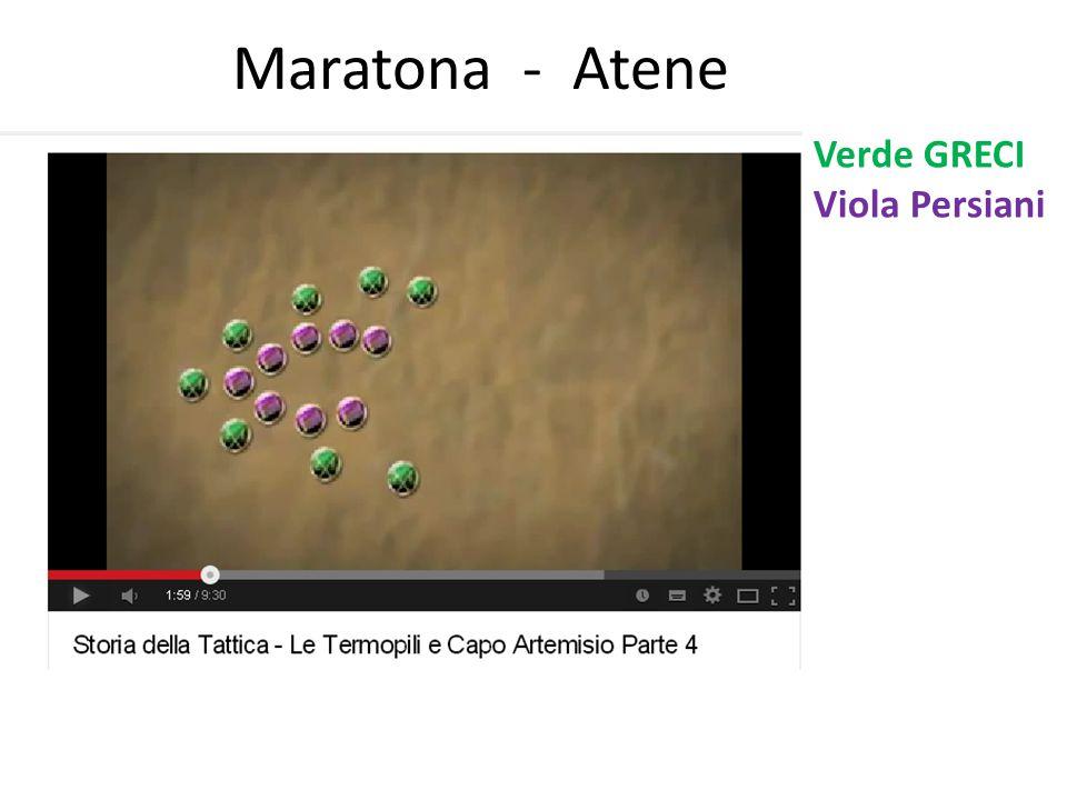 Maratona - Atene Verde GRECI Viola Persiani