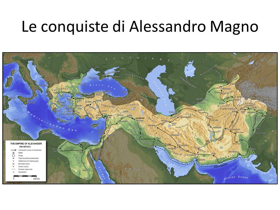 Le conquiste di Alessandro Magno