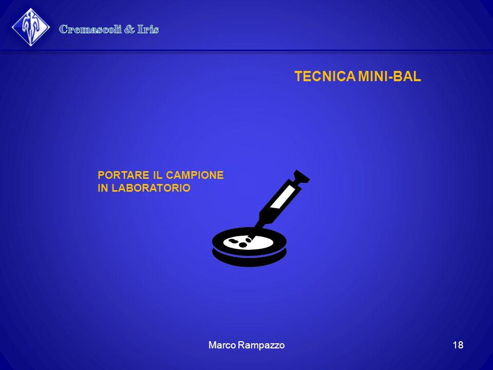 TECNICA MINI-BAL PORTARE IL CAMPIONE IN LABORATORIO 18Marco Rampazzo
