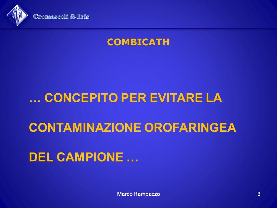 34Marco Rampazzo COMBICATH Catetere esternoCatetere interno 60 mm x 2,7 mm8 F65 cm x 1,7 mm5 F Mini - BAL
