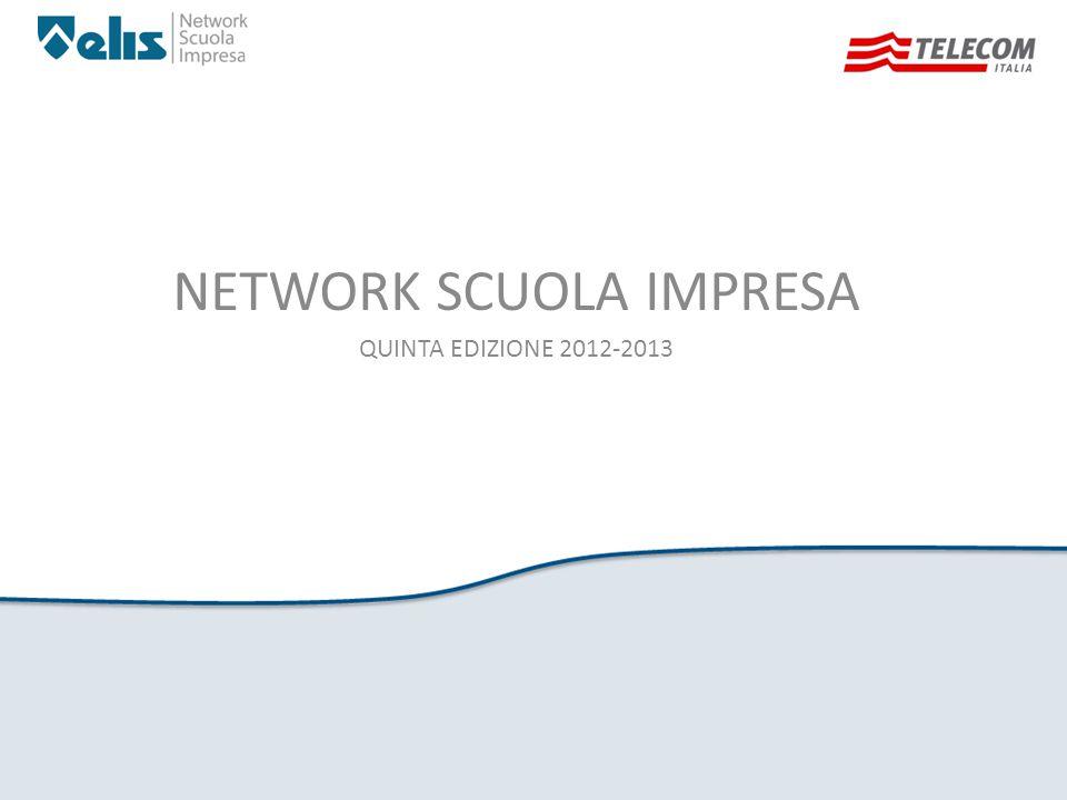 NETWORK SCUOLA IMPRESA QUINTA EDIZIONE 2012-2013