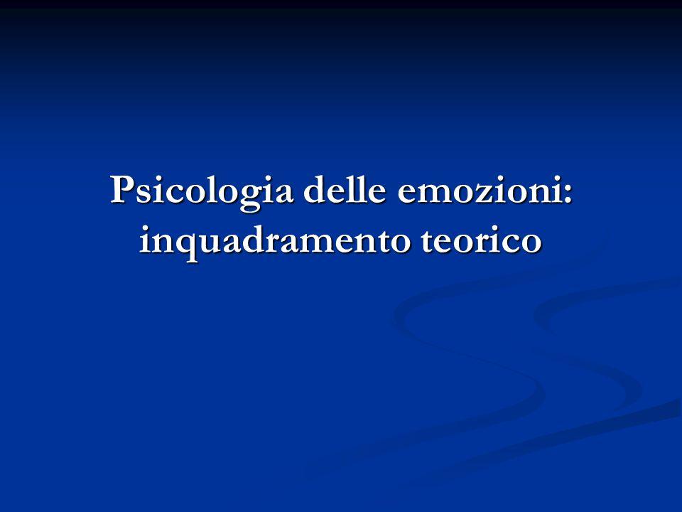 42Luigi Anolli - Le emozioni 2° L'esperienza emotiva 2° L'esperienza emotiva 5.