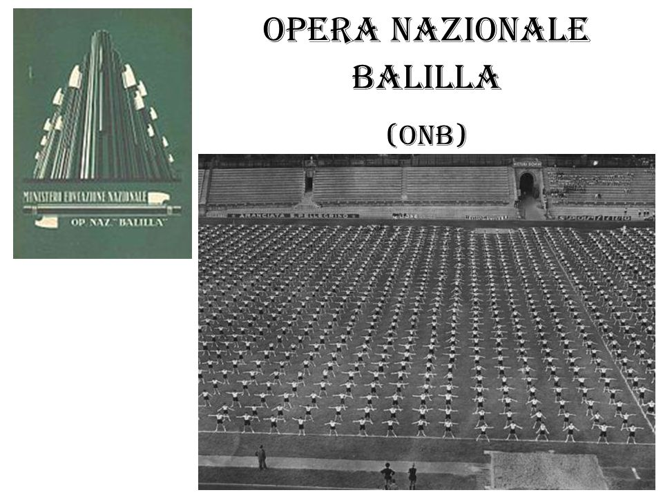 Opera Nazionale Balilla (ONB)
