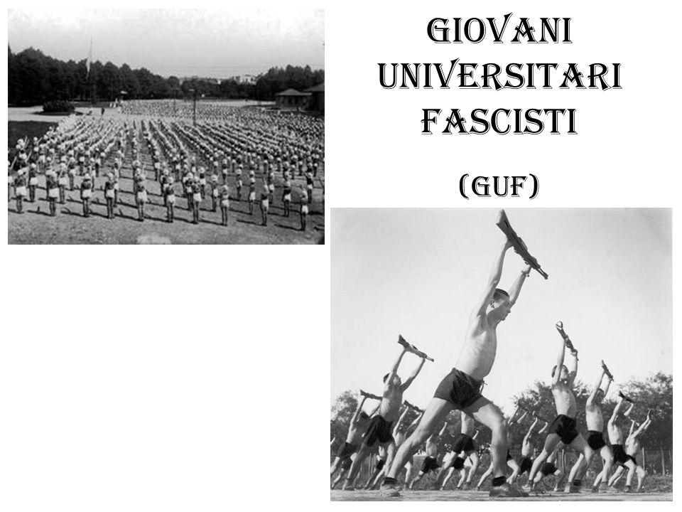 Giovani Universitari Fascisti (GUF)