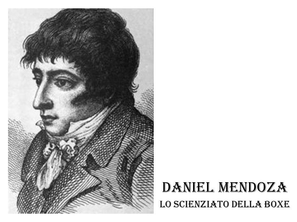Daniel Mendoza Lo scienziato della boxe