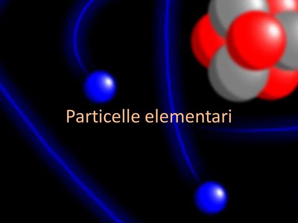 Particelle elementari
