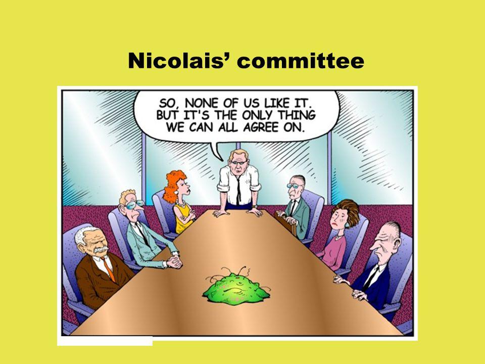 Nicolais' committee