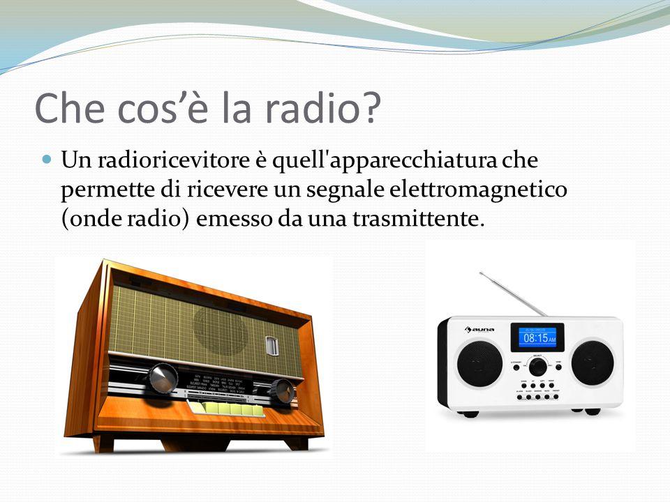 Che cos'è la radio.