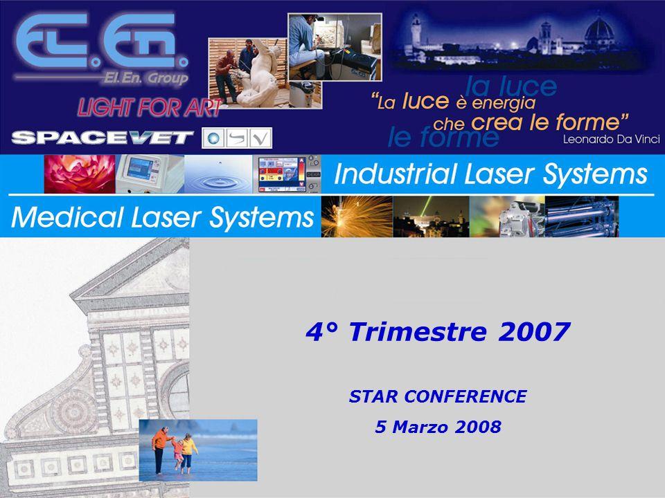 4° Trimestre 2007 STAR CONFERENCE 5 Marzo 2008