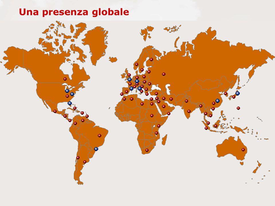 Una presenza globale