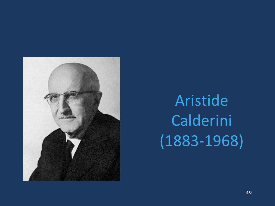 49 Aristide Calderini (1883-1968)