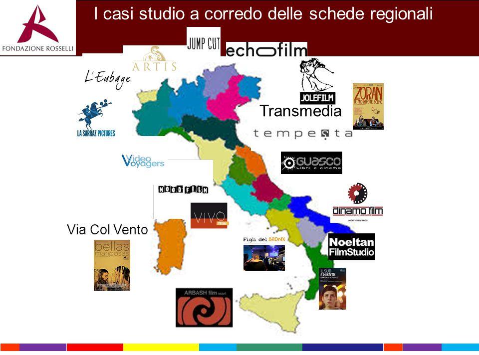 Transmedia I casi studio a corredo delle schede regionali Via Col Vento