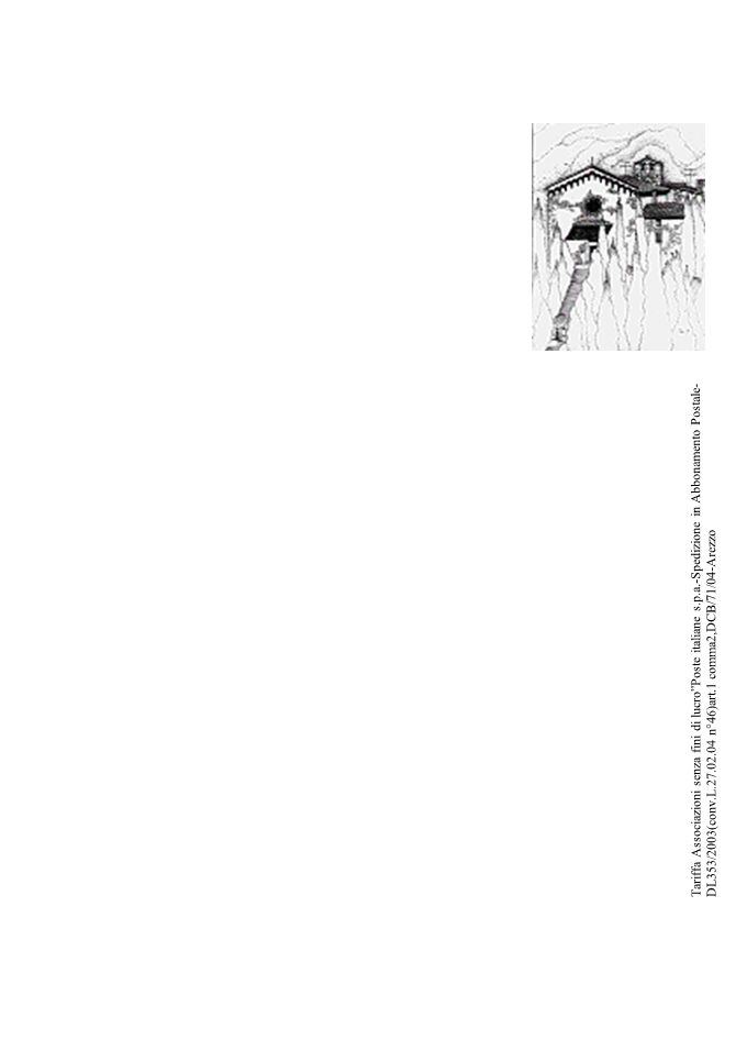 Qualcosa di Noi21 Tariffa Associazioni senza fini di lucro Poste italiane s.p.a.-Spedizione in Abbonamento Postale-DL353/2003(conv.L.27.02.04 n°46)art.1 comma2,DCB/71/04-Arezzo
