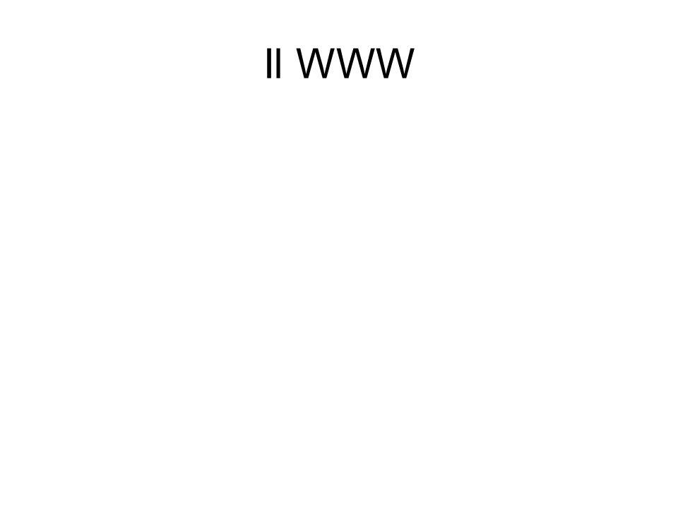 Il WWW