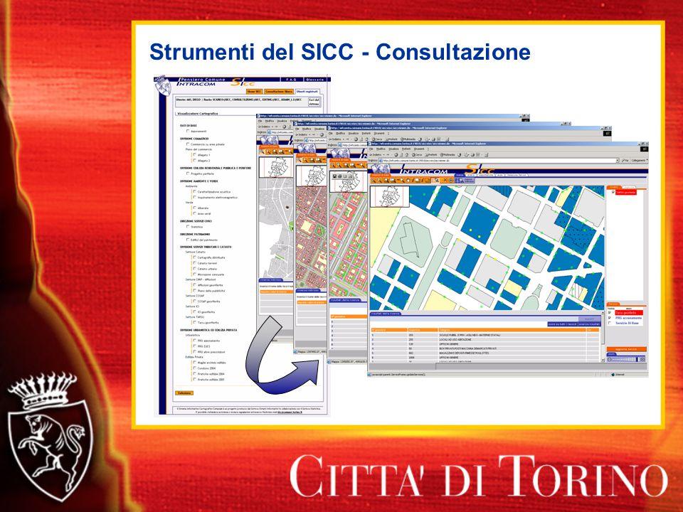 Strumenti del SICC - Consultazione