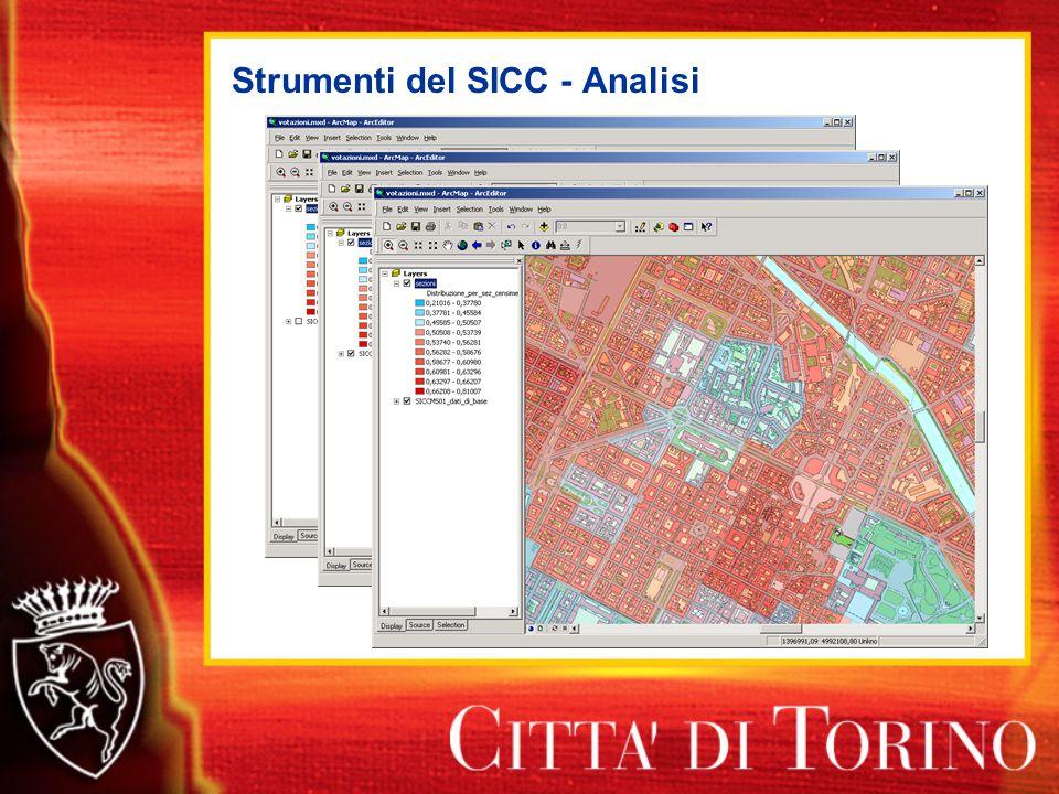 Strumenti del SICC - Analisi