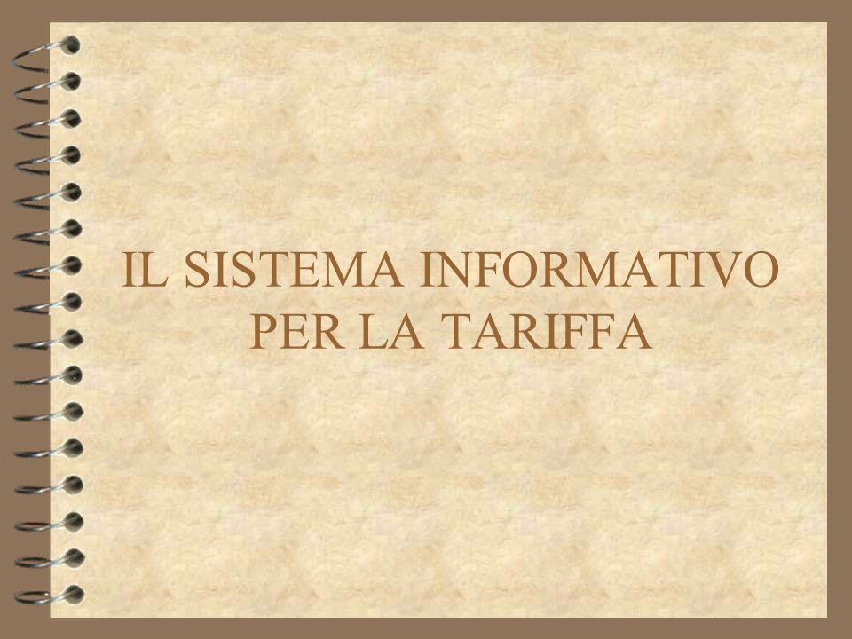 La tariffa sperimentale Per il Lazio la novità è data dal Comune di Roma, che entrando a regime sperimentale nel 2003 porta la popolazione interessata