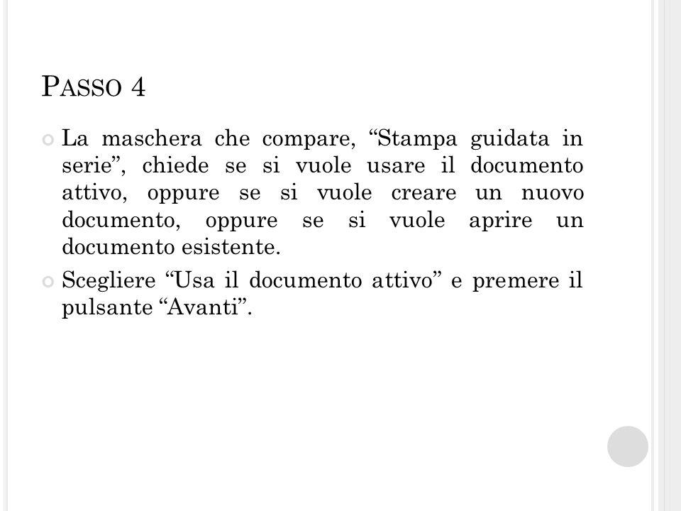 P ASSO 4