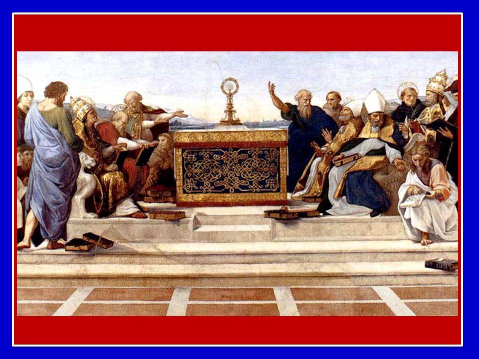 Senza l'Eucaristia la Chiesa semplicemente non esisterebbe. E' l'Eucaristia, infatti, che fa di una comunità umana un mistero di comunione, capace di