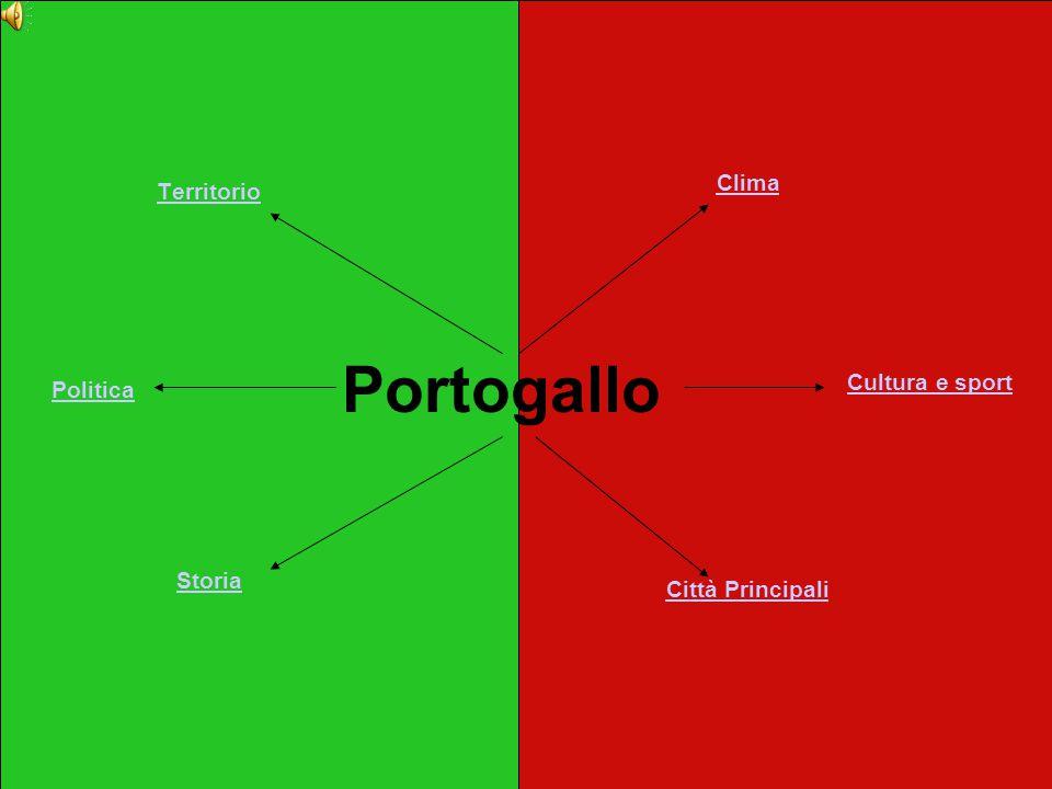 Territorio Portogallo Clima Storia Città Principali Cultura e sport Politica