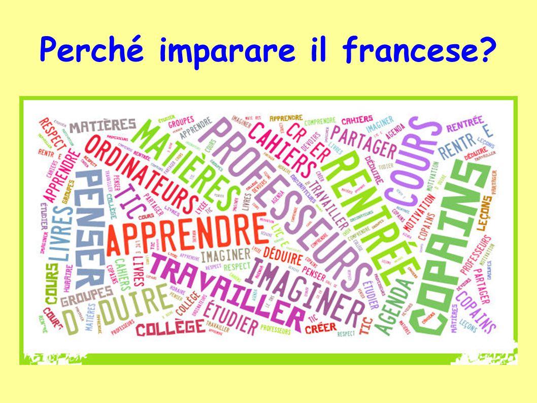 Perché imparare il francese?