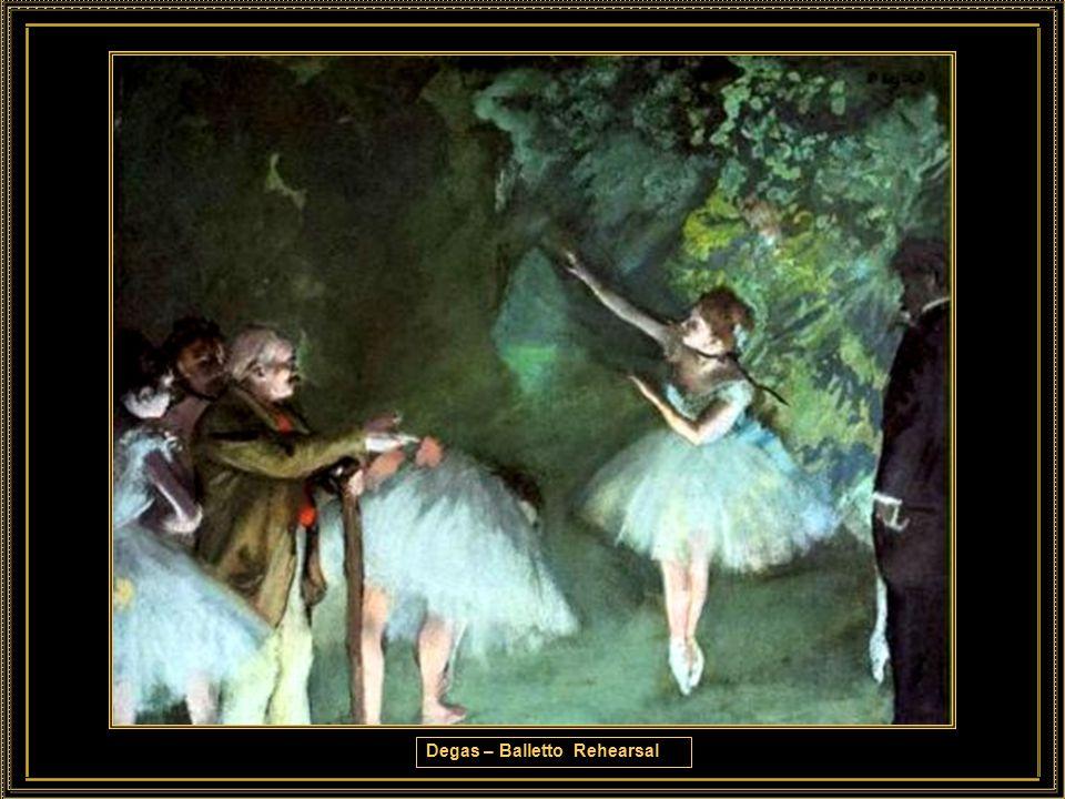 Degas – Balletto Rehearsal