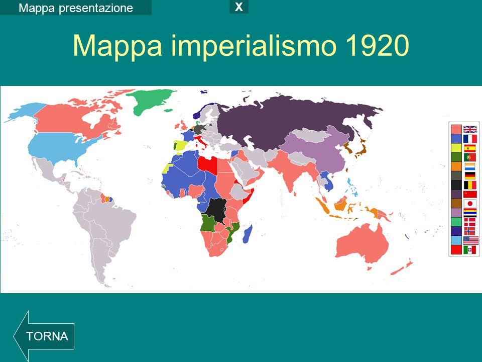Mappa imperialismo 1920 Mappa presentazione X TORNA