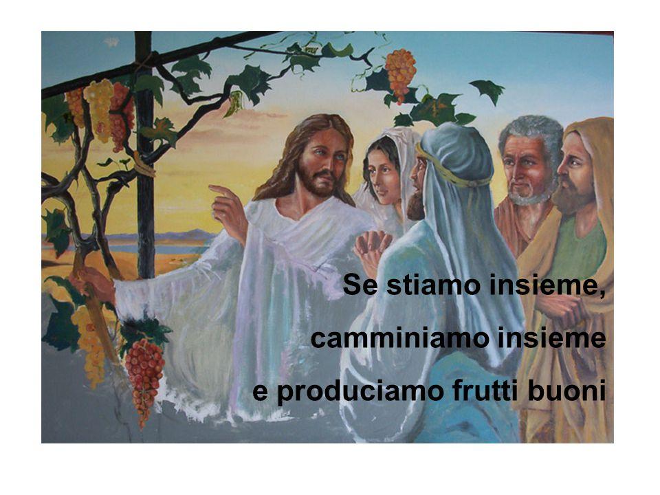 Se stiamo insieme, camminiamo insieme e produciamo frutti buoni