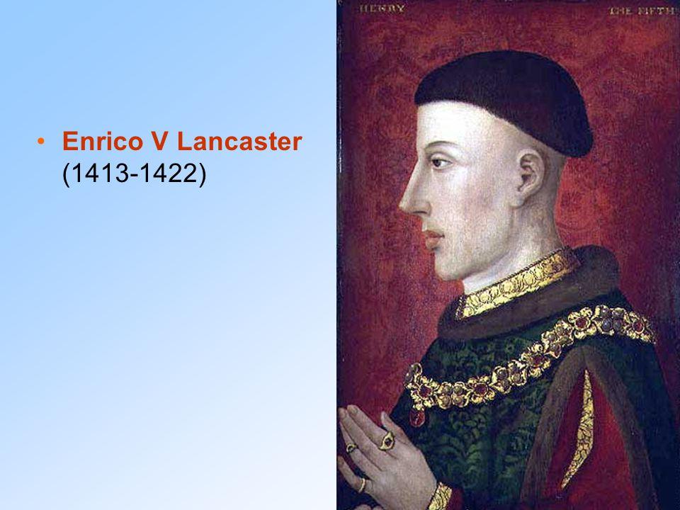 La riscossa francese Carlo ed Enrico muoiono nel 1422.