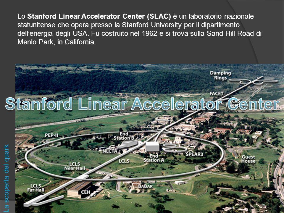 Lo Stanford Linear Accelerator Center (SLAC) è un laboratorio nazionale statunitense che opera presso la Stanford University per il dipartimento dell'