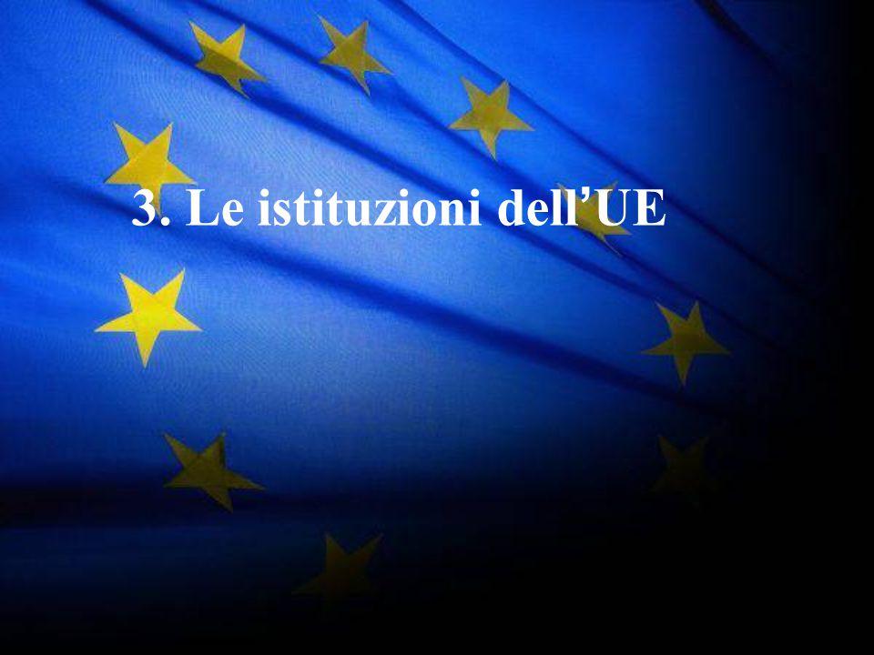36 3. Le istituzioni dell ' UE