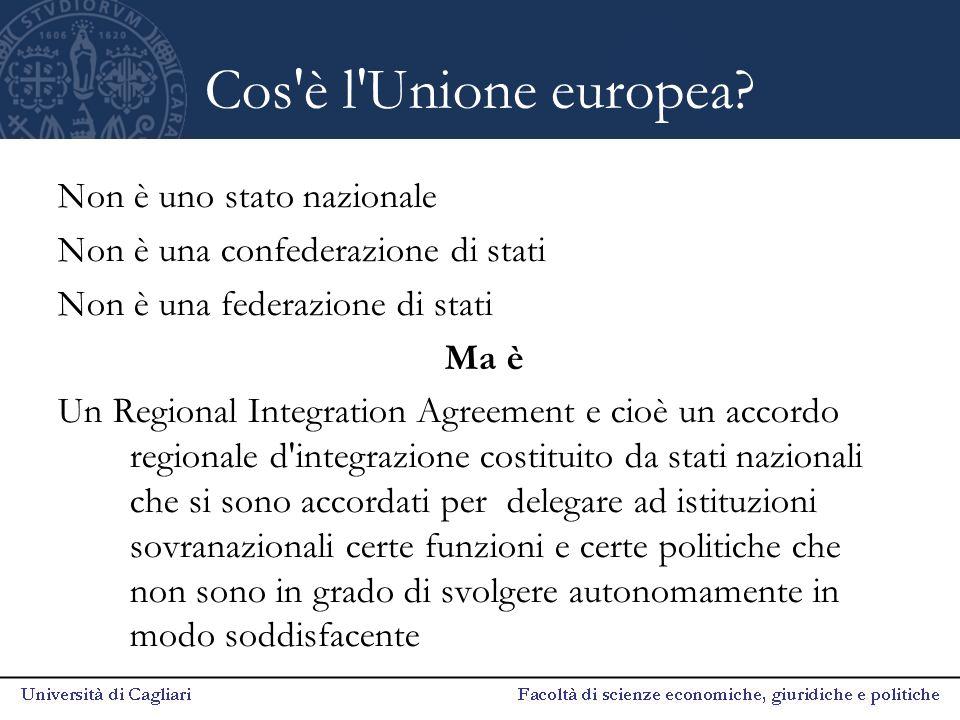 Banca centrale europea La BCE è la banca centrale per la moneta unica europea, l'euro.