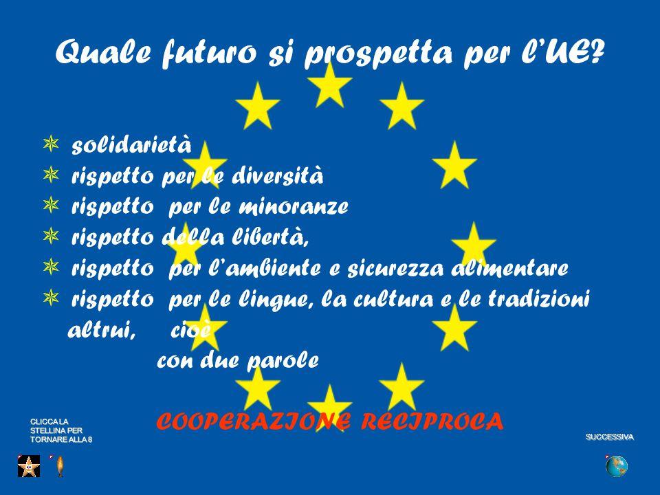Quale futuro si prospetta per l'UE.
