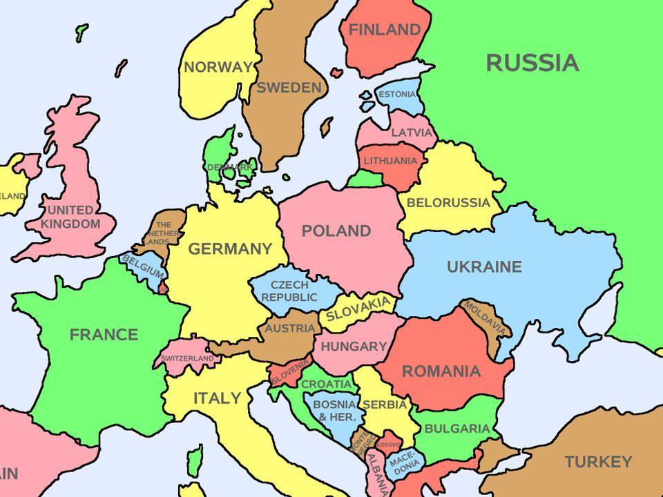 Ucraina è uno stato (603.700 km², 46.958.740 abitanti al 1º dicembre 2005, capitale Kiev Ha uno sbocco sul Mar Nero a sud e confina con la Russia ad est, la Bielorussia a nord e con Polonia, Slovacchia, Ungheria, Romania e Moldavia ad ovest.