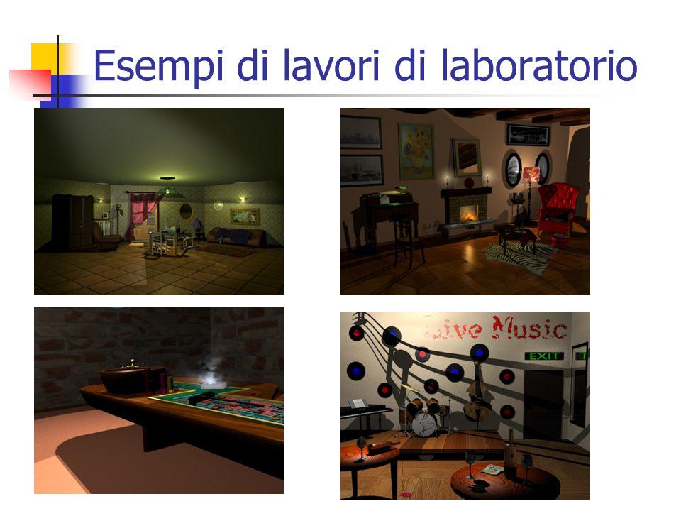 Esempi di lavori di laboratorio