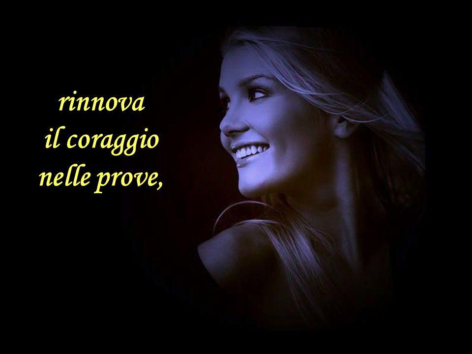 Un sorriso dona sollievo a chi è stanco,