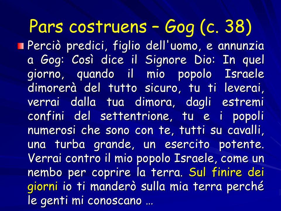 Pars costruens – Gog (c.