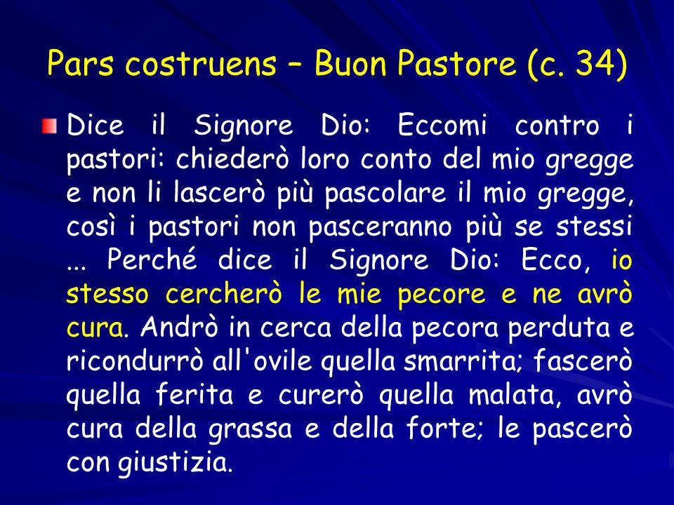 Pars costruens – Buon Pastore (c.