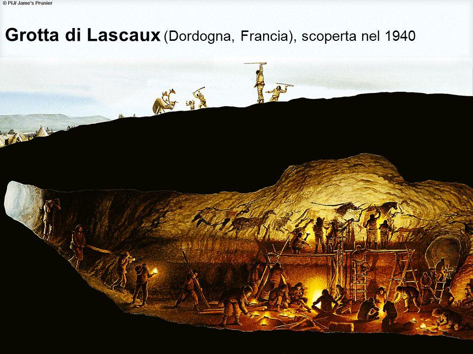 56 Grotta di Lascaux (Dordogna, Francia), scoperta nel 1940