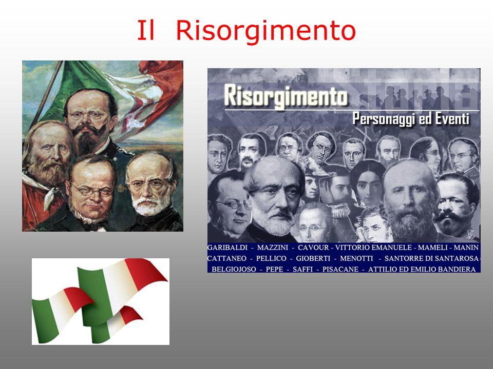 L'Italia nella prima metà dell'800 Gli stati italiani erano dal punto di vista economico poco sviluppati.