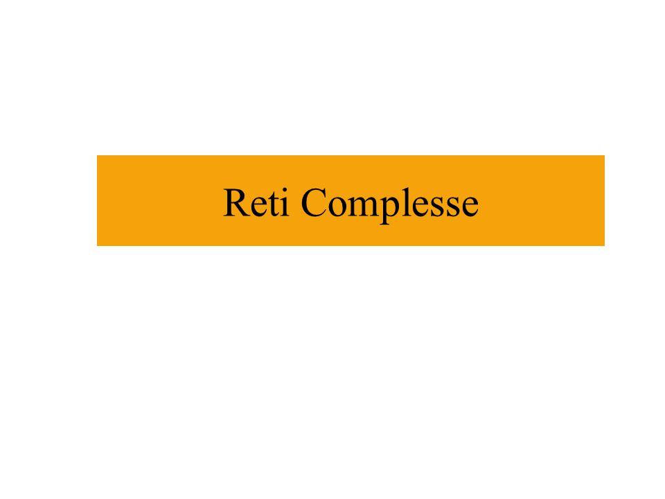 Indice Sistemi complessi e reti complesse Esempi di reti reali complesse Alcune proprietà: Piccolo mondo, Clustering, Centri.