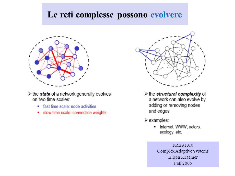 Esiste una definizione esatta di rete complessa.