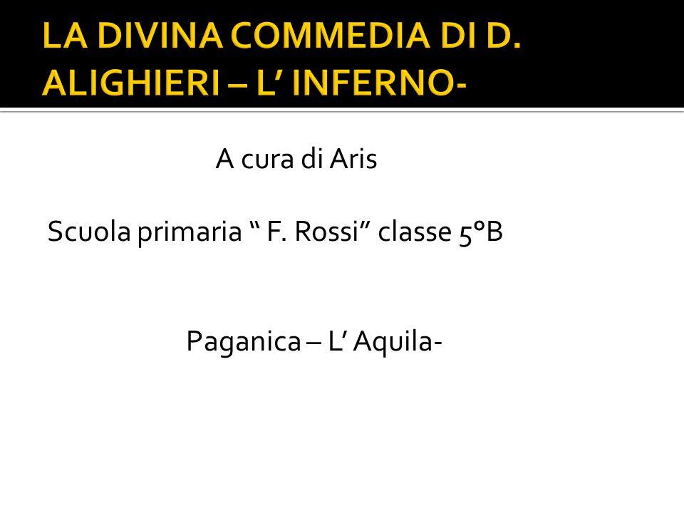 """A cura di Aris Scuola primaria """" F. Rossi"""" classe 5°B Paganica – L' Aquila-"""