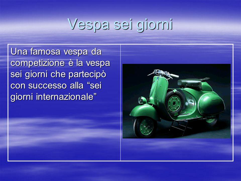 Vespa GT Nel 2004 esce la Vespa GT.