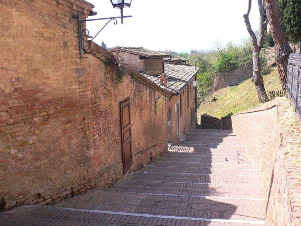 Nata a Siena, nel 1347, in una famiglia molto numerosa, morì nella città eterna, nel 1380. All'età di 16 anni, spinta da una visione di san Domenico,