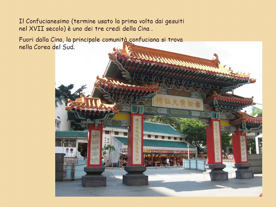 Il Confucianesimo (termine usato la prima volta dai gesuiti nel XVII secolo) è uno dei tre credi della Cina. Fuori dalla Cina, la principale comunità
