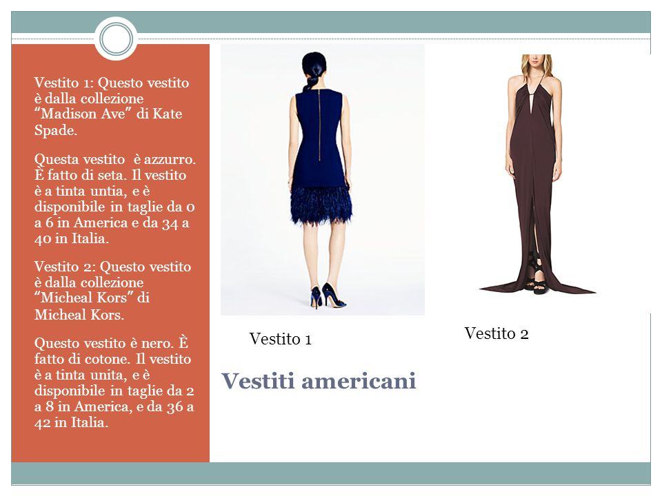 Vestiti americani Vestito 1: Questo vestito è dalla collezione Madison Ave di Kate Spade.