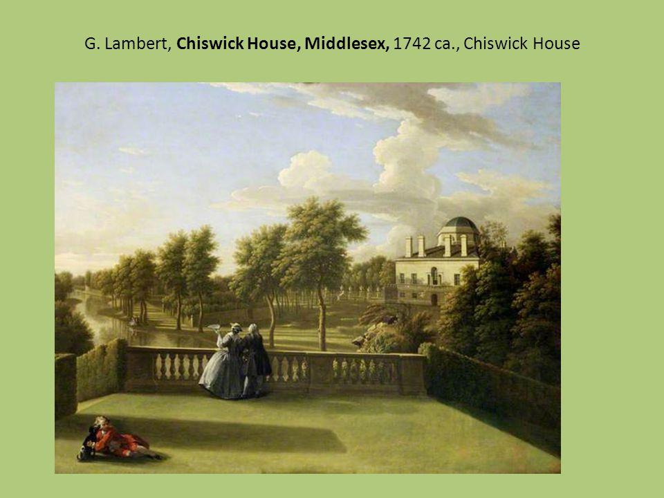 George Lambert, Longford Castle from da sud-est, 1743, coll. governative